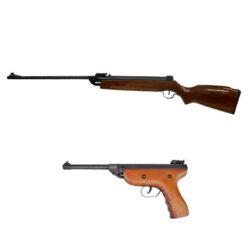 Pistolas y rifles de aire comprimido