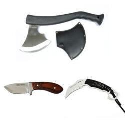 Cuchillos y hachas